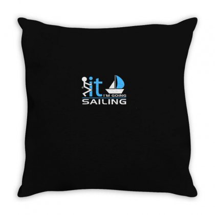 Sailing Throw Pillow Designed By Disgus_thing