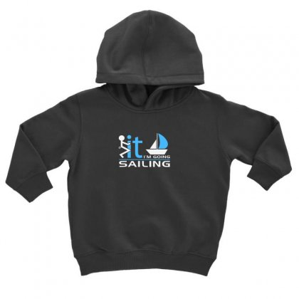 Sailing Toddler Hoodie Designed By Disgus_thing