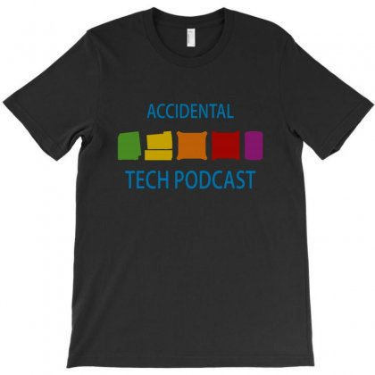 Rainbow Accidental Tech Podcast T-shirt Designed By Creative Tees