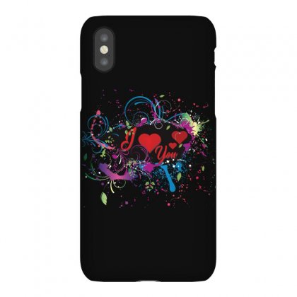 I Love You Iphonex Case Designed By Colle-q
