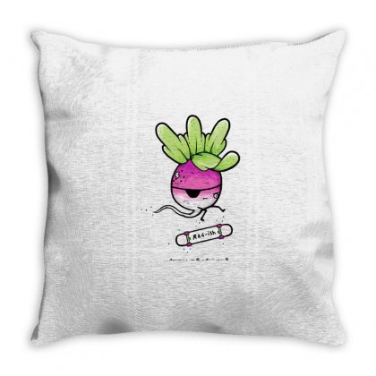 Rad Ish Throw Pillow Designed By Milaart