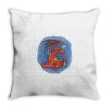 Rainy Day Love Throw Pillow Designed By Milaart
