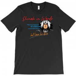 jiraiya - Shinobi in Words T-Shirt | Artistshot
