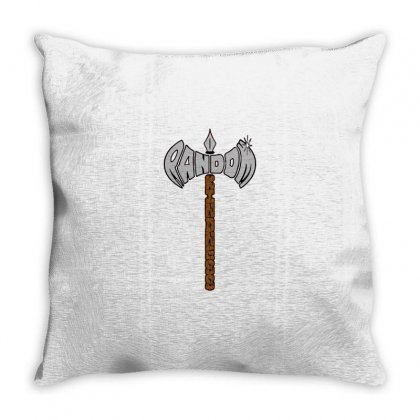 Random Axe Of Kindness Throw Pillow Designed By Milaart