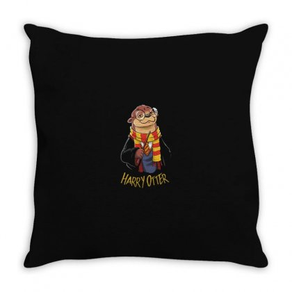 Funny Harry Throw Pillow Designed By Disgus_thing