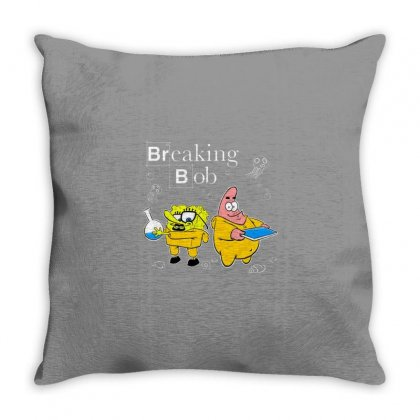 Bob Throw Pillow Designed By Disgus_thing