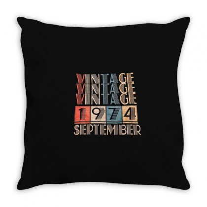 1974 Throw Pillow Designed By Disgus_thing