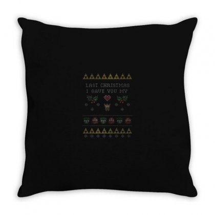 Xmas Throw Pillow Designed By Disgus_thing