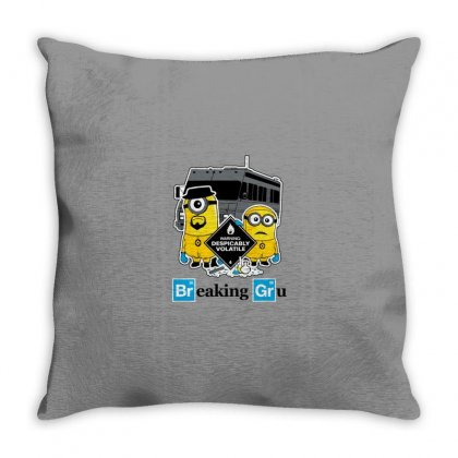 Funny Gru Throw Pillow Designed By Disgus_thing