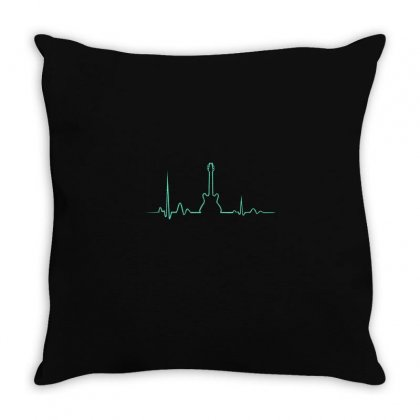 Guitar Throw Pillow Designed By Disgus_thing