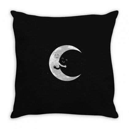 Moon Throw Pillow Designed By Disgus_thing