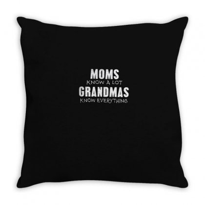 Know Everything Throw Pillow Designed By Disgus_thing