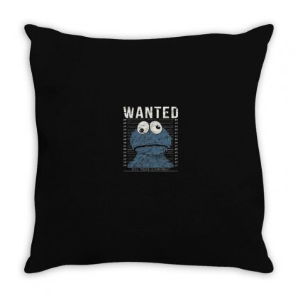 Wanted Throw Pillow Designed By Disgus_thing
