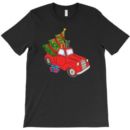 Merry Christmas Pickup T-shirt Designed By Hasret