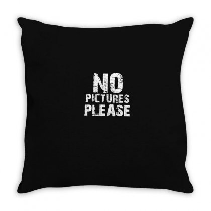 No Throw Pillow Designed By Disgus_thing