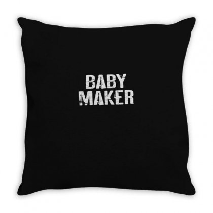 Baby Maker Throw Pillow Designed By Disgus_thing
