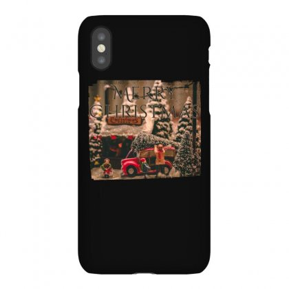 Merry Christmas Iphonex Case Designed By Gurkan