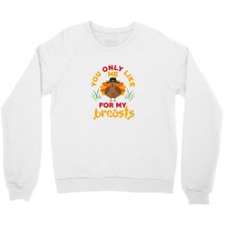 funny thanksgiving pilgrim turkey Crewneck Sweatshirt | Artistshot