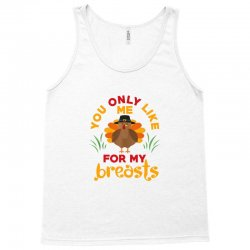 funny thanksgiving pilgrim turkey Tank Top | Artistshot