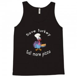 funny thanksgiving xmas gift for pizza lovers Tank Top | Artistshot