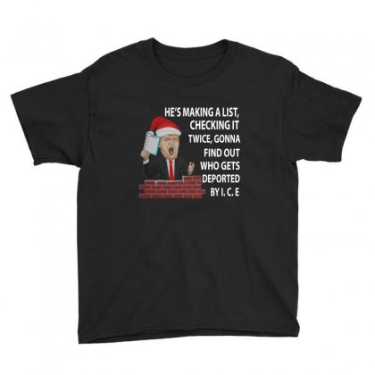 Trump's Making A List Youth Tee Designed By Kakashop