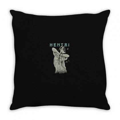 Anime Girl Throw Pillow Designed By Disgus_thing