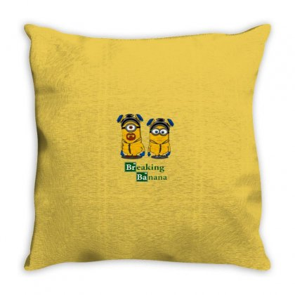 Banana Throw Pillow Designed By Disgus_thing