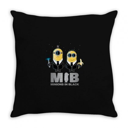 Black Throw Pillow Designed By Disgus_thing