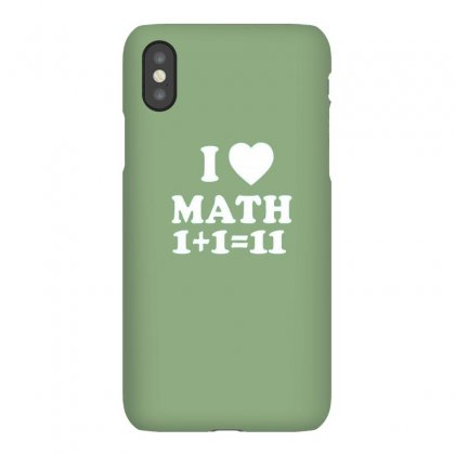 Math Love Iphonex Case Designed By Disgus_thing
