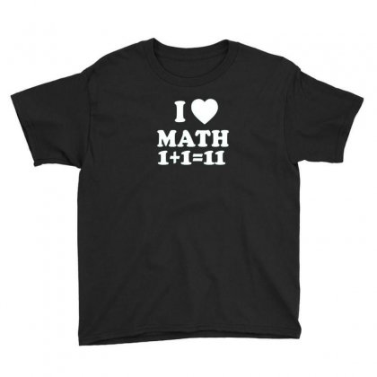 Math Love Youth Tee Designed By Disgus_thing