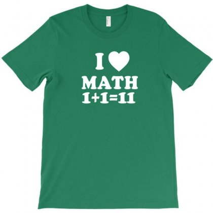 Math Love T-shirt Designed By Disgus_thing