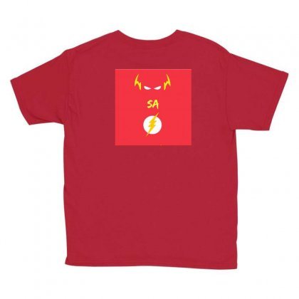 Deathsquad Merch Youth Tee Designed By The Flashsa