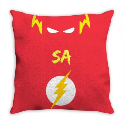 Deathsquad Merch Throw Pillow Designed By The Flashsa