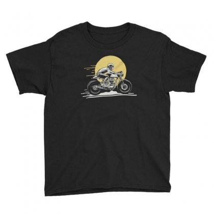 Motorbike Youth Tee Designed By Disgus_thing