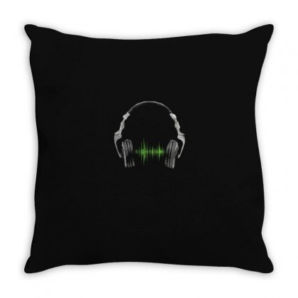 Music Throw Pillow Designed By Disgus_thing