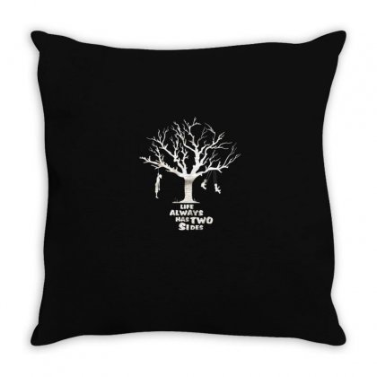 Life Throw Pillow Designed By Disgus_thing