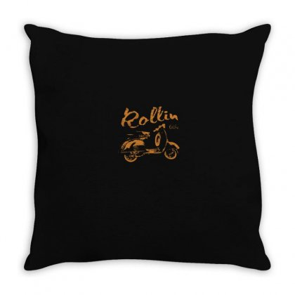 Motorbike Throw Pillow Designed By Disgus_thing