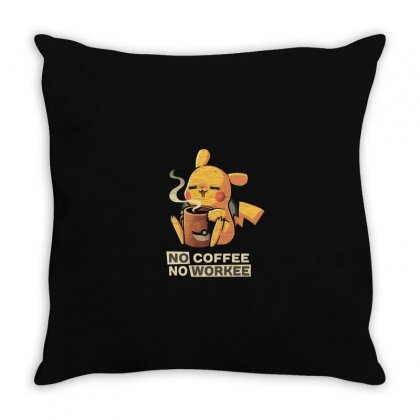 Coffee Throw Pillow Designed By Disgus_thing