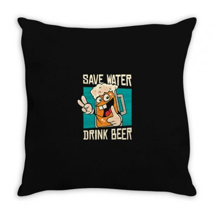 Water Throw Pillow Designed By Disgus_thing
