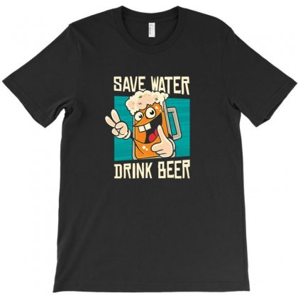 Water T-shirt Designed By Disgus_thing