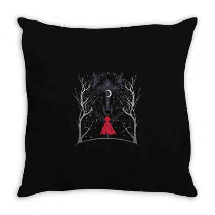 Red Throw Pillow Designed By Disgus_thing