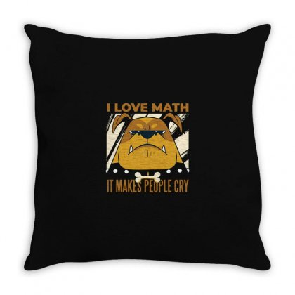 Math Throw Pillow Designed By Disgus_thing