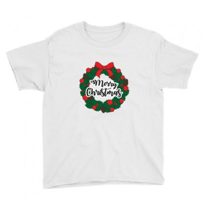 Merry Christmas Youth Tee Designed By Zein