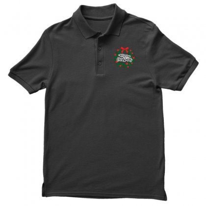 Merry Christmas Men's Polo Shirt Designed By Zein