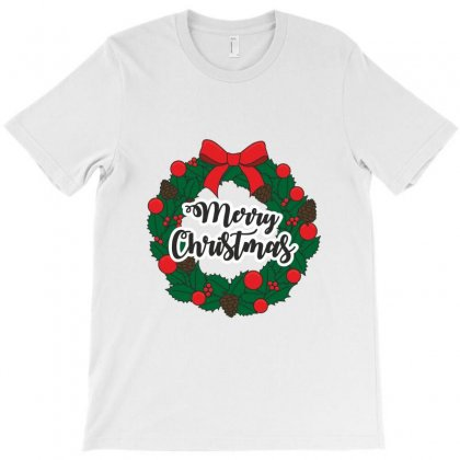 Merry Christmas T-shirt Designed By Zein