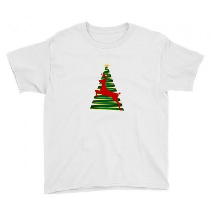 Christmas Spirit Youth Tee Designed By Zein