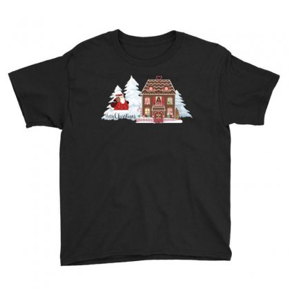 Christmas Time Youth Tee Designed By Zein
