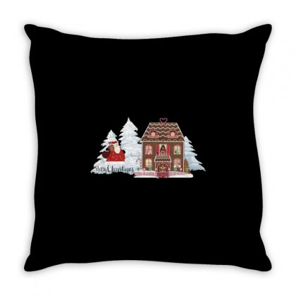 Christmas Time Throw Pillow Designed By Zein