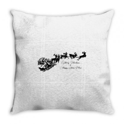 Happy New Year Throw Pillow Designed By Zein