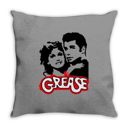 Grease Love Throw Pillow Designed By Blackheart